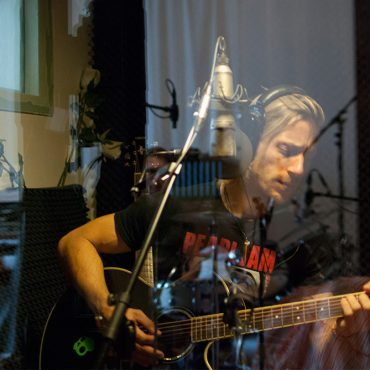 The Morricones recording with Raphael Tschernuth