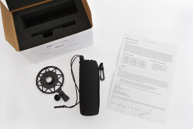 Nohype LRM-2 microphone box