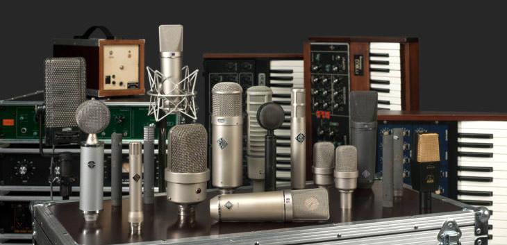 Echoschall recording equipment