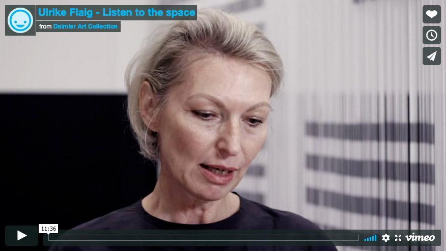 Sound design for Ulrike Flaig, Exhibition 31: Women